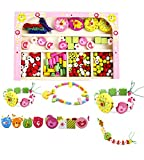 #2: Jewelry Wooden bead set for kids