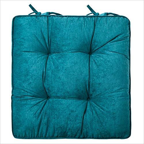 Zmsdt Ankunft Rollstuhl Slow Rebound Memory Foam Rückenschmerzen Druckentlastung Home Sitzkissen Orthopädisch (Farbe : Blau)