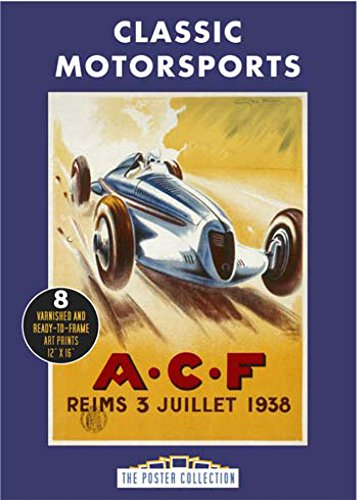 Poster Pack: Classic Motorsports (Poster Collection) por Carlton Books UK