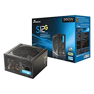 Seasonic S12G-550 550W 80+ Gold Certified Wired Power Supply