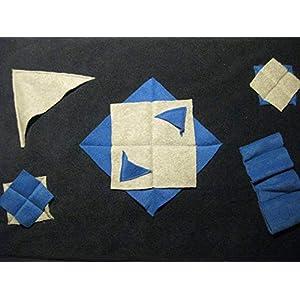 Leckerli Suchdecke dunkelblau als Suchspiel und zum Schnüffeln für Hunde