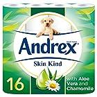 Andrex Skin Kind Toilet Tissue, 16 Toilet Rolls