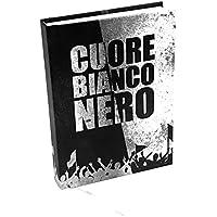 Cuore Bianconero XM-130-02 Diario scuola, 10 Mesi, 16 Centimetri