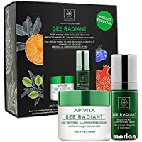 Apivita Cofre Bee Radiant Crema Ligera Antiedad Iluminadora, 50ml+Bee Radiant Serum, 30ml