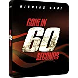 Blu-ray - Gone In 60 Seconds - STEELBOOK - UK-Import