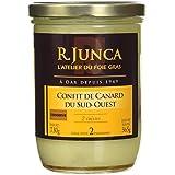 R. JUNCA Confit de Canard du Sud-Ouest 2 Cuisses - 730 g - lot de 3