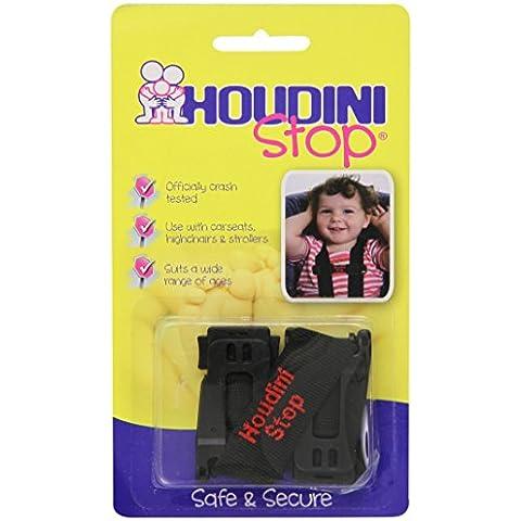 Houdini Stop - Arnés para sillita de niños. Compatible con todo tipo de sillas. Evita que el niño saque los brazos del