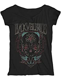 New Official BLACK VEIL BRIDES RED FACES Girlie T-Shirt
