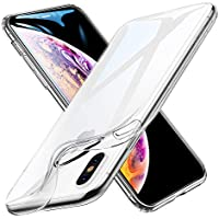 """ESR Funda iPhone XS MAX, Funda Suave TPU Gel Ultra Fina Protección a Bordes y Cámara Compatible con Carga Inalámbrica Enjaca Apple iPhone XS MAX DE 6.5""""-Transparente"""