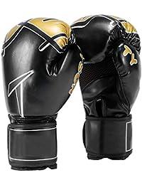 Guantes de Boxeo Guantes para Adultos Sanda Niños Lucha de Entrenamiento Profesional Bolsas de…