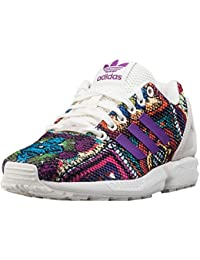 adidas ZX Flux W Calzado 5,0 off white/mid grape