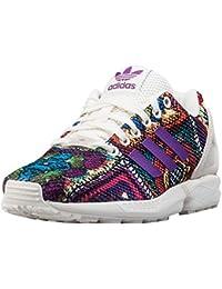 Zapatillass ZX FLUX W off white/off white/mid grapef07 16/17 Adidas Originals