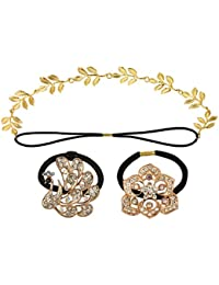 Styles Creation Combo Hair Bands/Hair Clips/Hair Combs/Hair Pins/Hair Jewellery For Women (ARTFLJWL33)
