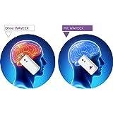 WAVEEX - 1 Stck - Aufkleber als Strahlenschutz vor Magnetfeld, Elektrosmog, Handystrahlung - Handy Blocker und elektromagnetische Felder, EMF