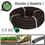Probache - Tuyau poreux 12m goutte a goutte special irrigation