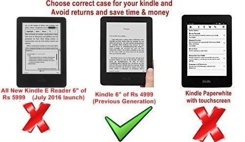 amazon kindle 6 glare free touchscreen display wi fi