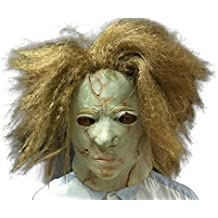Michael Myers # 2 Horror Mask - Perfecto para Carnaval, Halloween y Carnaval - Disfraz de Adulto - Latex, unisexo
