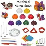 TrendLight 861191 - Juego para hacer velas (con muchos accesorios, 9 colores)