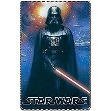 Manta de bebé de lana Star Wars Dart Fenner 100x150 cm 100% poliéster. Para
