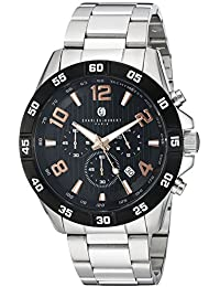 Charles-Hubert, Paris Men's 3977-B Premium Collection Analog Display Japanese Quartz Silver Watch