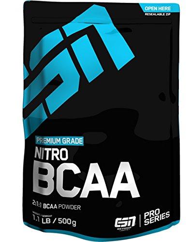 #ESN Nitro BCAA Powder Pro Series, Cola, 500g Beutel#