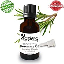 KAZIMA Rosemary Essential Oil - 100% Pure Natural - Use For Aromatherapy, Health Boost, Hair Re-Growth, Skin care, Face (30ML)