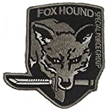 Metal Gear Solid Mgs Fox Hound Special Force Group Velvro Patch