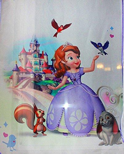 Tenda, motivo: sofia la principessa disney, dimensioni: largh. 150 x lungh. 157, per la cameretta