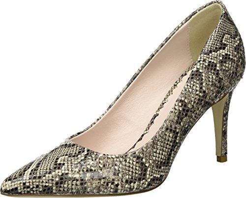 Tosca Blu Shoes Damen Scotch Pumps, Beige (Beige), 38 EU (Blu-leder-pumps)