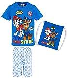 Paw Patrol Jungen Shorty-Pyjama mit Beutel - blau - 110