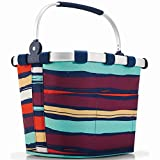 Reisenthel JT3058 Bikebasket Plus Artist Stripes, Polyester, Mehrfarbig, 35 x 29 cm