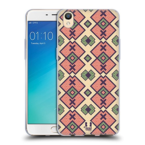 Head Case Designs Diamants Roses Glam De Amazon Étui Coque en Gel molle pour Oppo R9 / F1 Plus