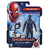 Hasbro Marvel Spider-Man- Far from Home Action Figure da 15 cm con Stealth Suit, Multicolore, E4119ES0