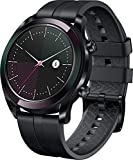 "HUAWEI Watch GT (Elegant) Smartwatch, Display touch 1,2"" AMOLED, Fitness Tracket con GPS, Rilevazione battito cardiaco, Resistente all'acqua 5 ATM, Nero"