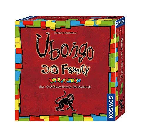Kosmos 694258 Ubongo 3-D Family, Der Action- und Knobelspaß für die ganze Familie in 3D Brettspiel