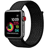 Apple Watch Sport Loop Band 38mm 42mm, Lightweight Breathable Nylon Band For IWatch Series 1, Series 2, Series 3, Sport, Edition, Nike+