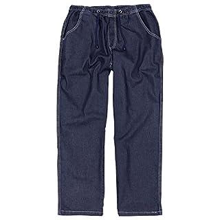 Abraxas Dunkelblaue Jogging-Jeans großen Größen bis 12XL, Größe:7XL