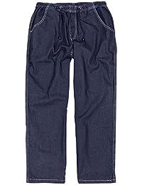 Jean de jogging bleu by Abraxas grandes tailles jusqu'au 12XL