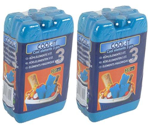 SPAR-SETS Kühlakku Kühlelemente für die Kühltasche oder Kühlbox (2)