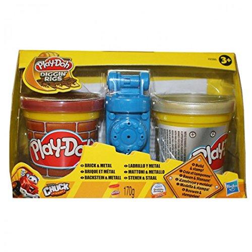 HASBRO 49379 Play Doh Diggin Rigs STEIN METALL Knete Spielzeug mit Form NEU