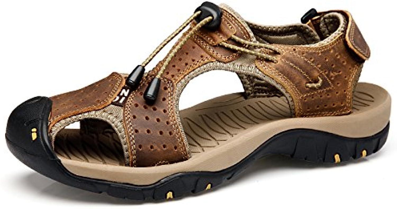 MHSXN MouveHommes Hommes Rétro  s Escalade MouveHommes MHSXN t Chaussures Homme Closed-Toe Beach Chaussures en CuirB07CY1P3V9Parent 7ba978