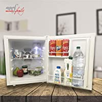 Melchioni BARETTO NEW Mini frigo bar , Silenzioso 30 dB, 50L, Frigorifero piccolo portatile da camera, ufficio, B&B, Hotel [Classe di efficienza energetica A] 43x51x48 cm