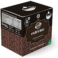 Gocce - Estremo Intensité 12 - 10 Capsules de Café Compatibles avec les Machines Nespresso 56 g - Lot de 8