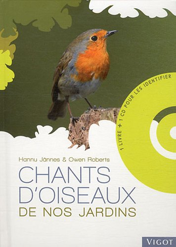 Chants d'oiseaux de nos jardins (1CD audio)
