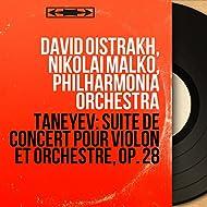 Taneyev: Suite de concert pour violon et orchestre, Op. 28 (Mono Version)