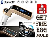 #7: Bluetooth Car CHG. 2.5A With Turbo Chargng with free Egg mould