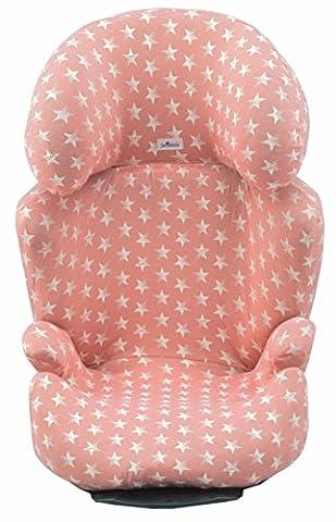 Bezug für Maxi-Cosi Rodi Air Protec Pink Star Janabebe® (Kindersitz Rodi)