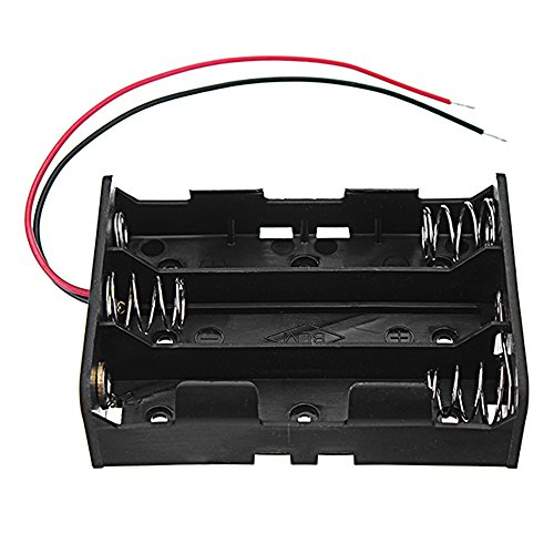 Preisvergleich Produktbild LaDicha 3Pcs Dc 11.1V 3 Slot 3 Serie 18650 Battery Holder Battery Box Battery Case Mit 2 Leads Und Spring Ce Rohs Zertifizierung
