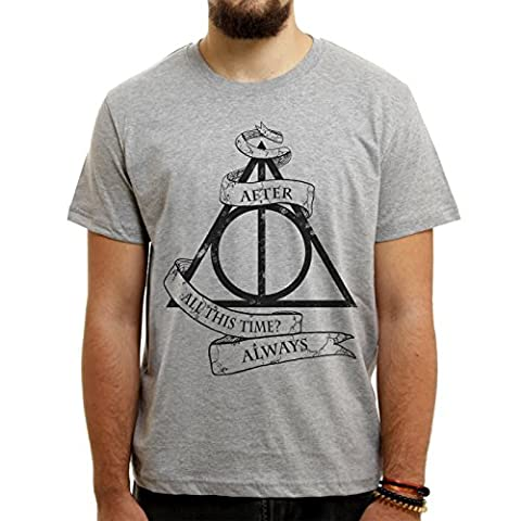 Deathly Hollows From Harry Potter After All This Time Always Medium Herren T-Shirt