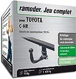 Rameder Attelage rotule démontable pour Toyota C-HR + Faisceau 13 Broches...